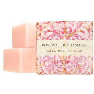 1 9 Oz Shea Butter Soap Rosewater