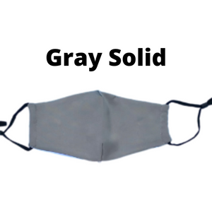 Solid Gray Mask