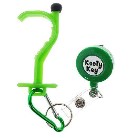 Kooty Key Germ Utility Tool (Carabiner Included - Colors May Vary)