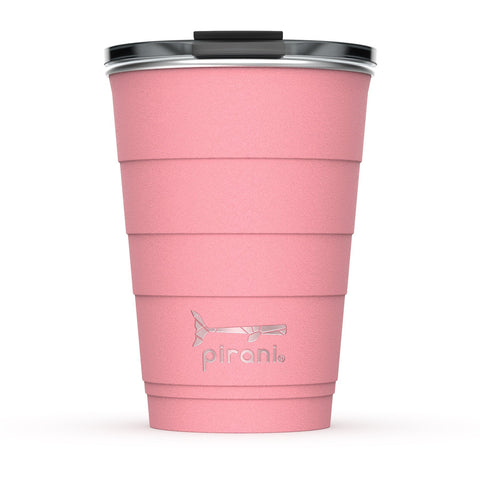 16oz Stainless Steel Insulated Tumbler, Coral Sun