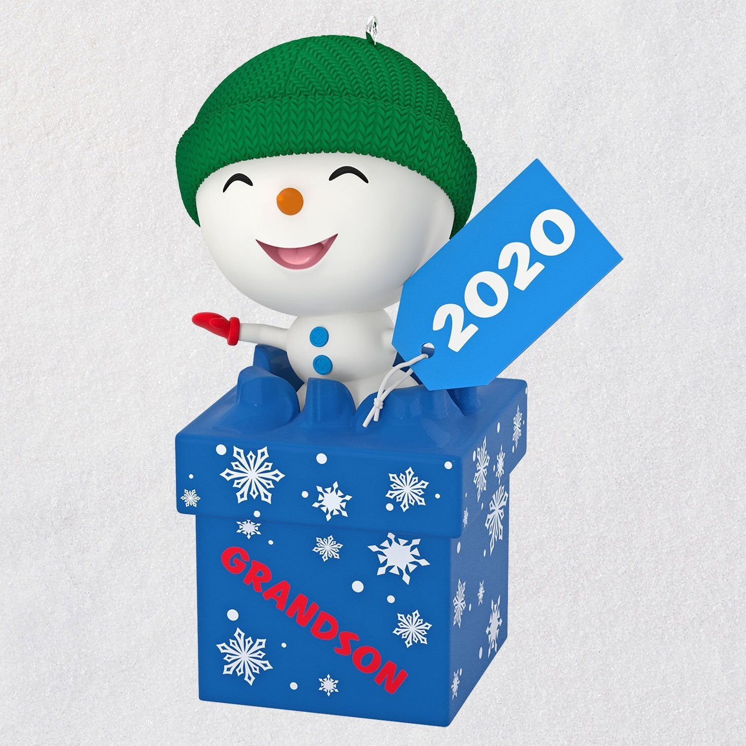 Hallmark The Gift of Grandsons Snowman 2020 Ornament