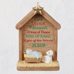 Hallmark Prince of Peace Nativity Ornament
