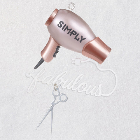 Hallmark Simply Fabulous Hairstylist Ornament
