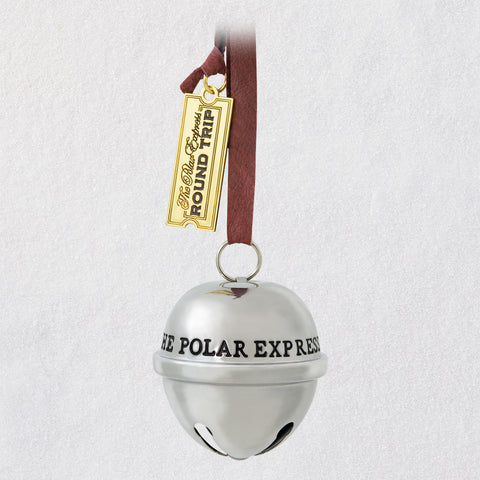 Hallmark The Polar Express™ Santa's Sleigh Bell 2020 Metal Ornament