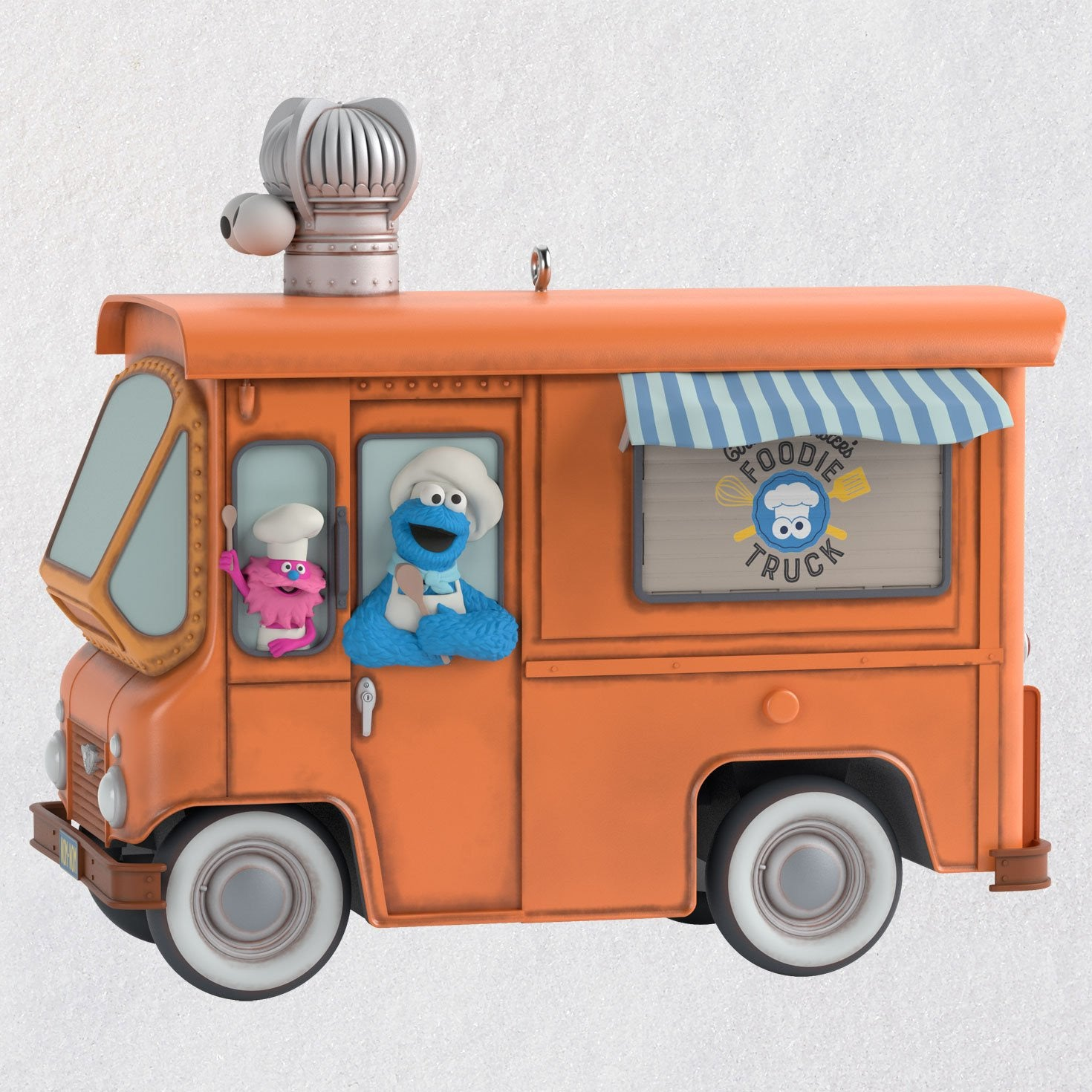 Hallmark Sesame Street® Cookie Monster's Foodie Truck Ornament With Sound