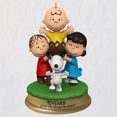 Hallmark The Peanuts® Gang You're a Good Man, Charlie Brown! Ornament With Sound