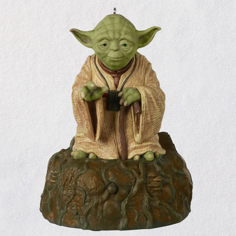 Hallmark Star Wars: The Empire Strikes Back™ Jedi Master Yoda™ Ornament With Sound and Motion