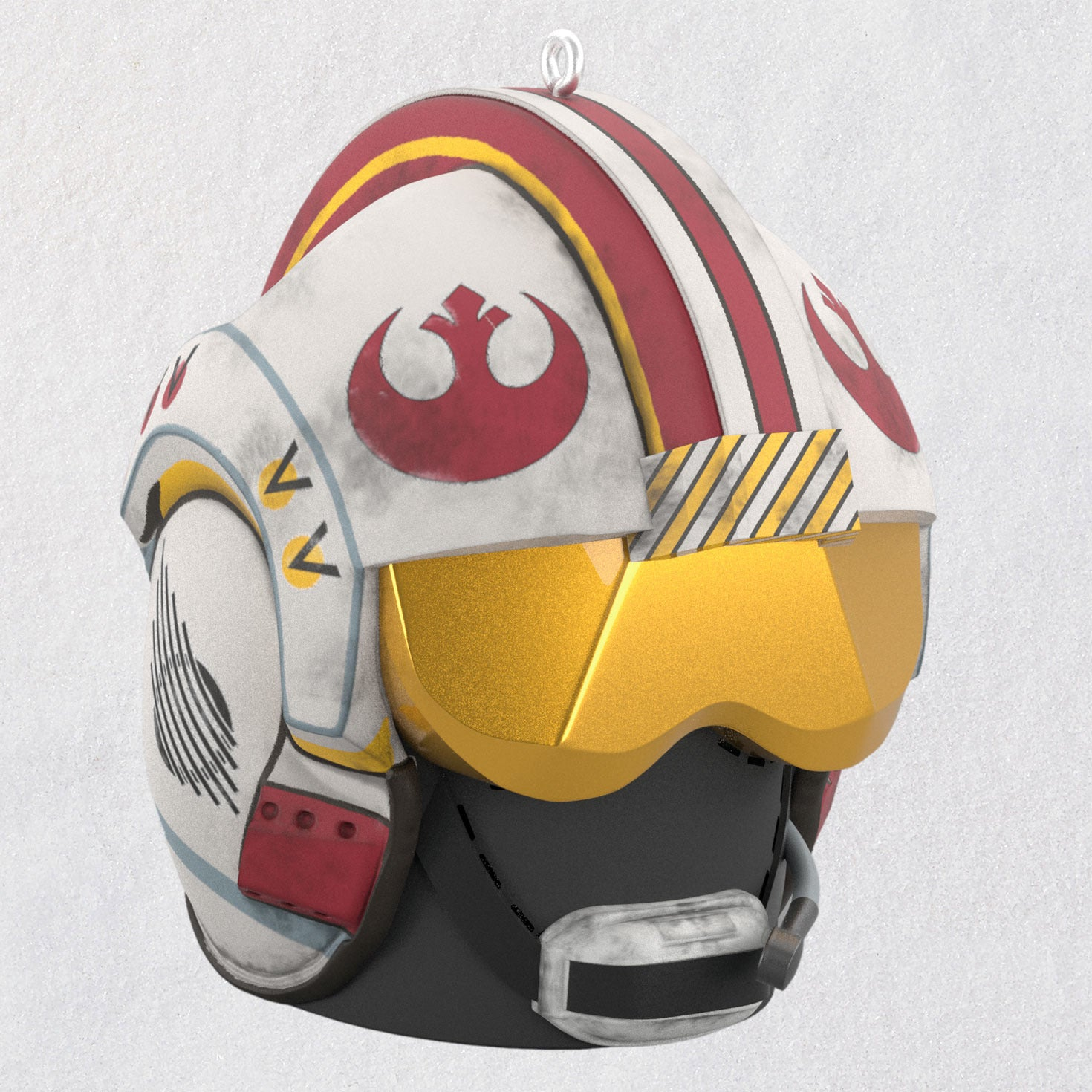 Hallmark Star Wars: A New Hope™ Red Five Rebel Pilot Helmet Ornament With Sound