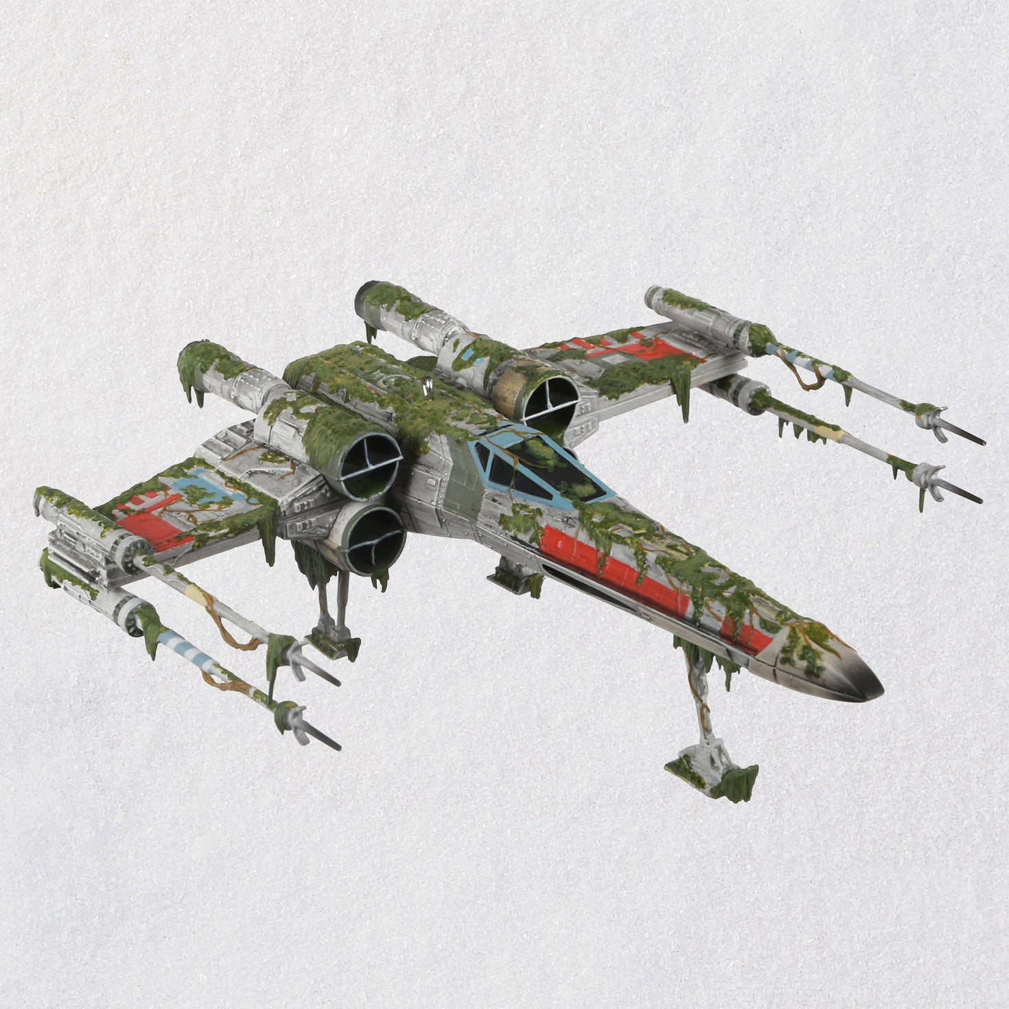 Hallmark Star Wars: The Empire Strikes Back™ X-Wing Starfighter™ on Dagobah™ Ornament