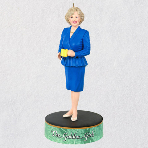 Hallmark The Golden Girls Rose Nylund Ornament With Sound