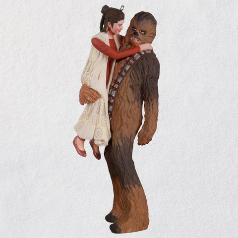 Hallmark Star Wars: The Empire Strikes Back™ Princess Leia™ and Chewbacca™ Ornament