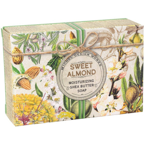 Sweet Almond Boxed Single Soap