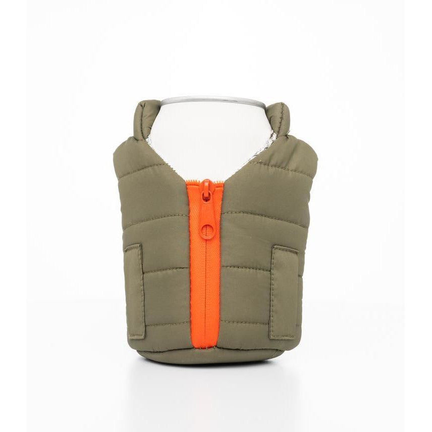 Beverage Vest, Green/Orange