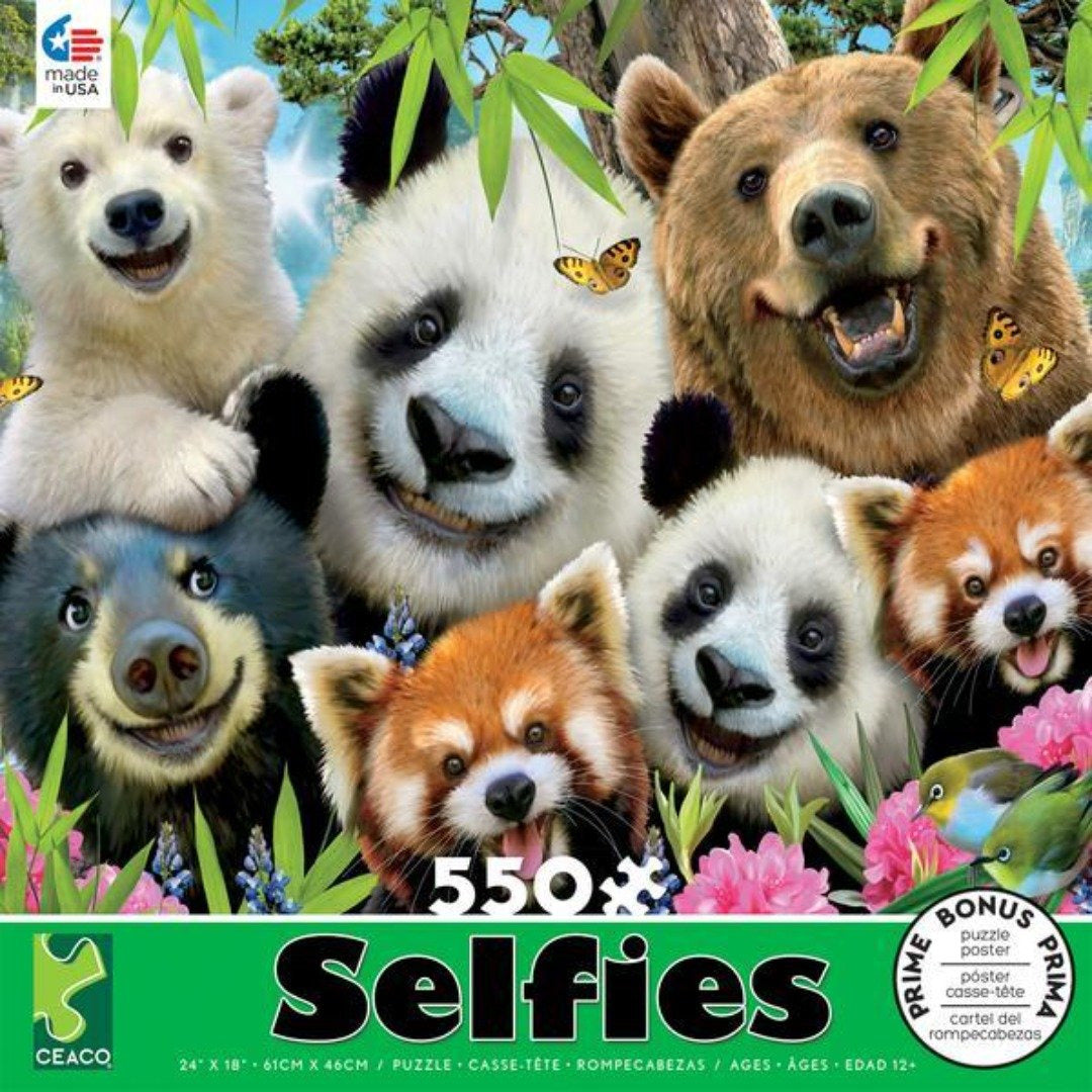 Selfies Bears 550 Pc