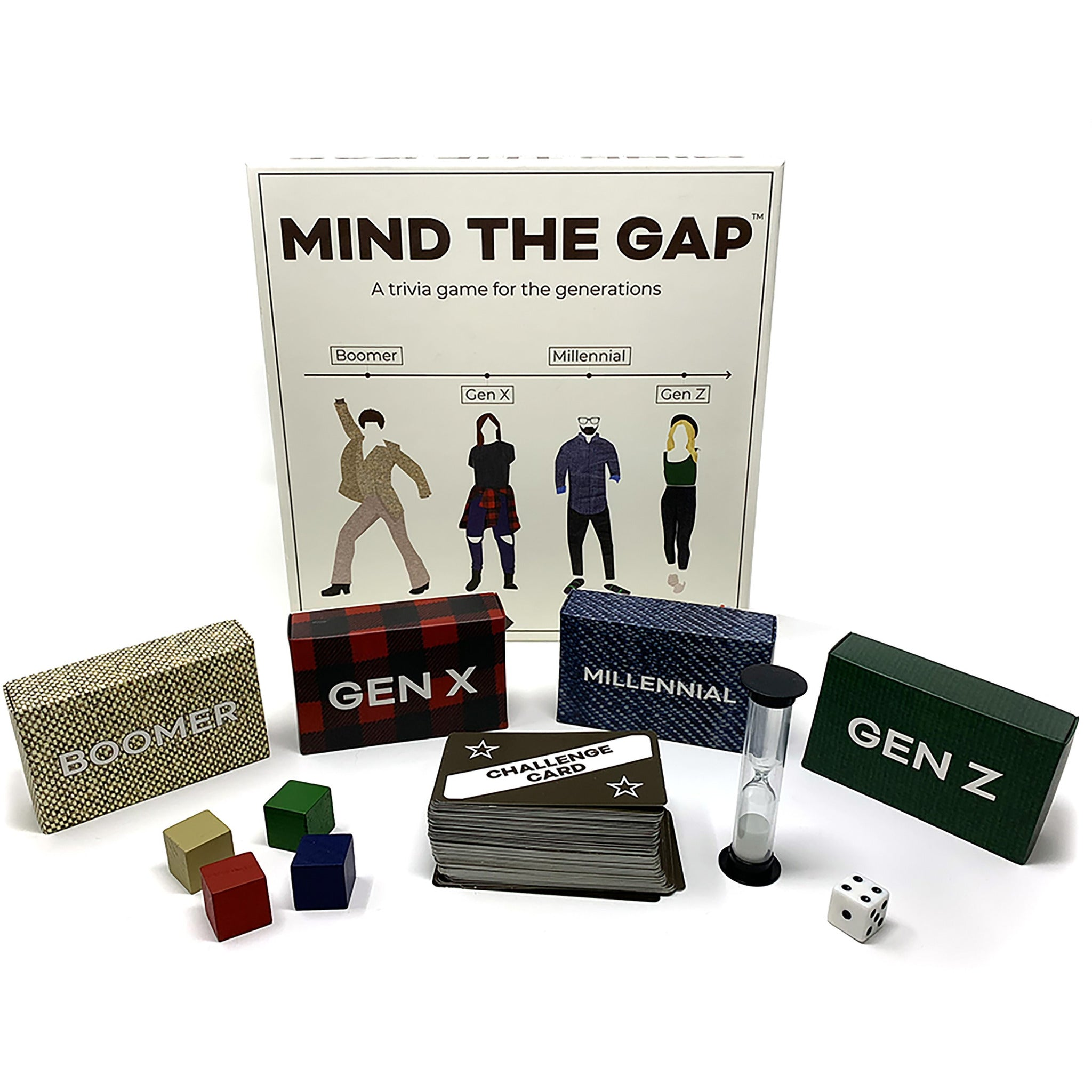 Mind The Gap Game - A Trivia Game for the Generations