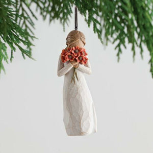 Willow Tree Surrounded By Love Ornament
