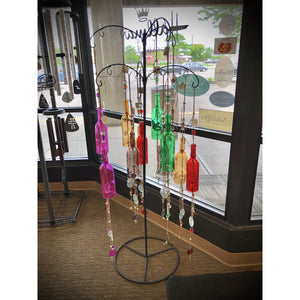 Glass Bottle Wind Chime