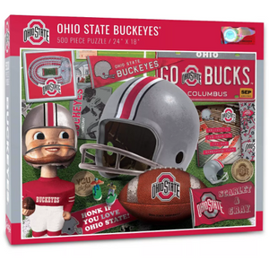 NCAA Ohio State Buckeyes Throwback 500 pc Puzzle
