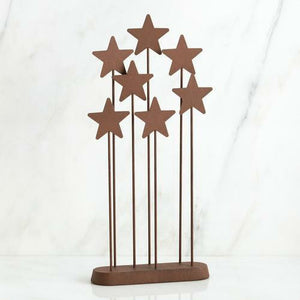 Willow Tree Metal Star Backdrop