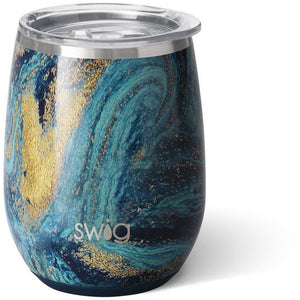 Starry Night Stemless Wine Cup (14oz)