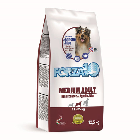MEDIUM ADULT AGNELLO/RISO 12,5 kg