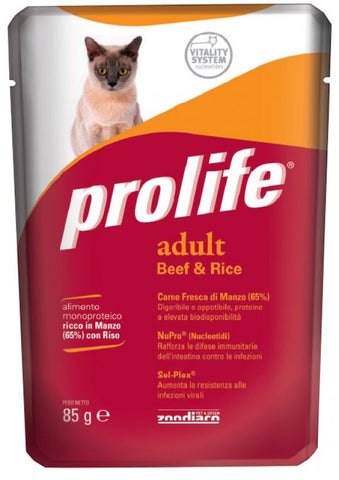 ADULT Beef/Rice 85 gr