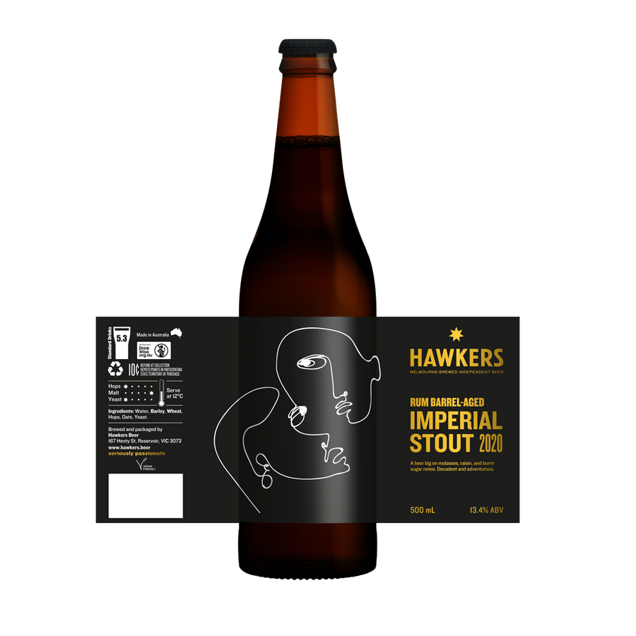 Rum Barrel Aged Imperial Stout (2020)