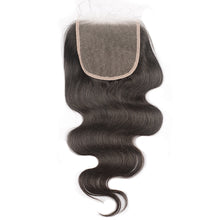 Load image into Gallery viewer, MsMerry 5x5 HD Lace Closure Silky Straight Invisible Knots Full Human Virgin Hair