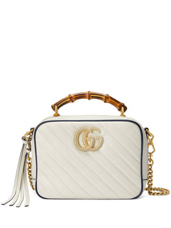 GG Marmont leather small shoulder bag