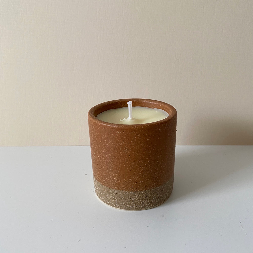 Earth and sky bergamot and nettle candle
