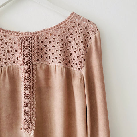 Mila dusky pink tunic top