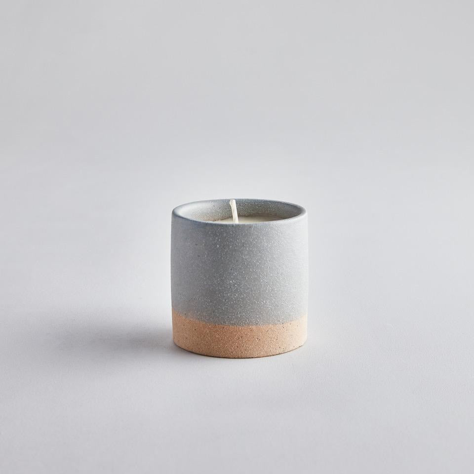 Earth and sky tranquility candle