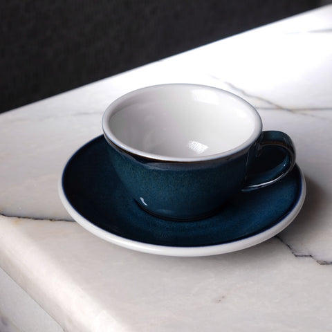 Loveramics - Egg Flatwhite Cup 150ml with Saucer