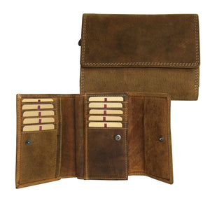 Adrian Klis Distressed Leather Wallet