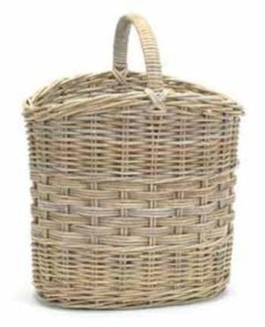 Oval Umbrella Basket with Handle