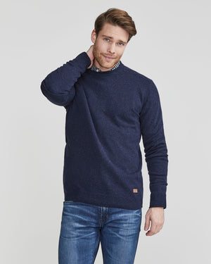 Einar Crew in Grey Melange
