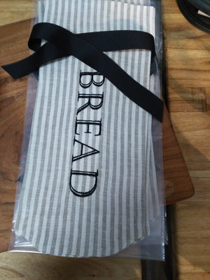 Demi Roll Linen Bread Bag