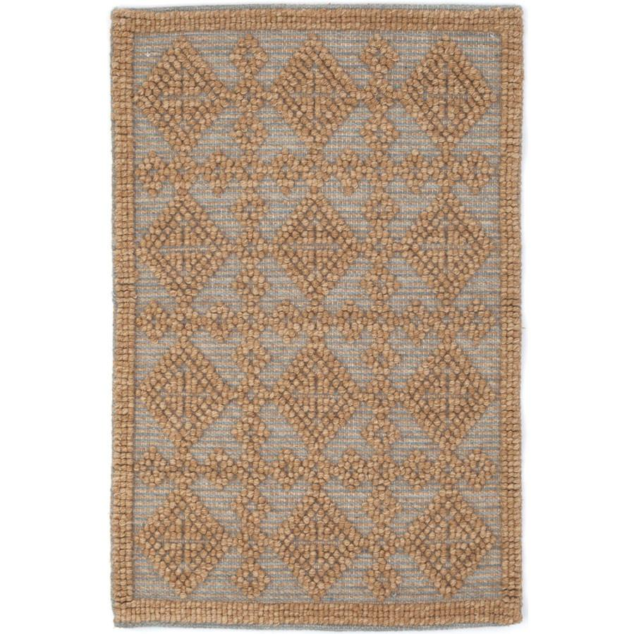 Alpine Diamond Slate Wool Woven Rug