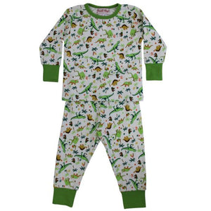 Dinosaur Cotton Pajamas