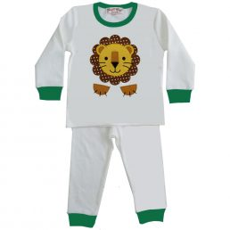 Lion Applique Pajamas