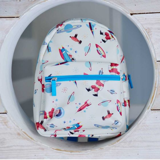 Space Print Backpack