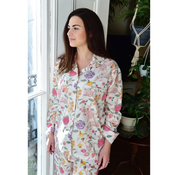 Dahlia Cotton Pajamas