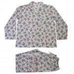 Rose Floral Cotton Pajamas SN151