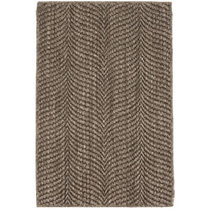 Wave Griege Sisal Woven Rug