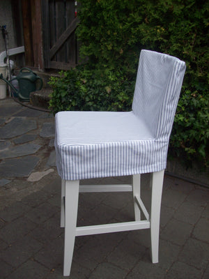 Dining chair. No piping. No skirt.