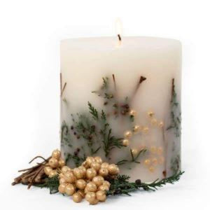 Evergreen Botanical Candle
