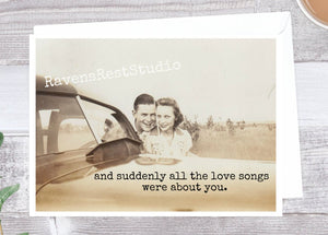 Suddenly All the Love Songs