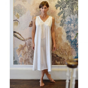 "Classic White Nightie, ""Jane"""
