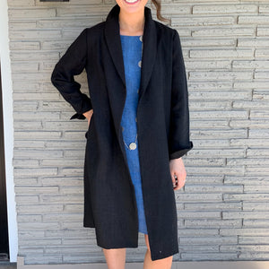Kelly Linen Duster