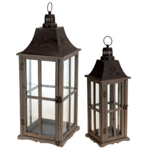 Shaw Wood & Metal Lanterns